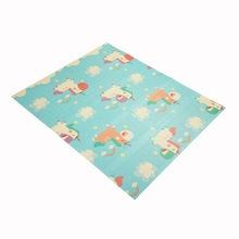 Cartoon Baby Room Crawling Pad Folding Mat Baby Carpet Playmat Baby Play Mat Toys For Children's Mat Rug Kids Developing Mat 145 195cm baby crawling mat thickening children folding mat living room carpet climbing mat can be machine washed for baby gift