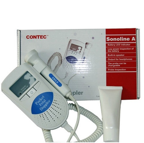 Sonoline-A 2MHz or 3MHz Portable Baby Heartbeat Monitor Prenatal Fetal Doppler No Display Screen -4