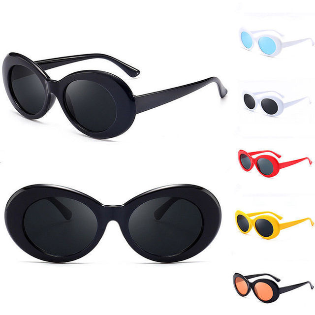3d8e8497aa Oulylan Clout Goggles NIRVANA Kurt Cobain Glasses Round Sunglasses Men  Brand Designer Vintage Sun Glasses Shades