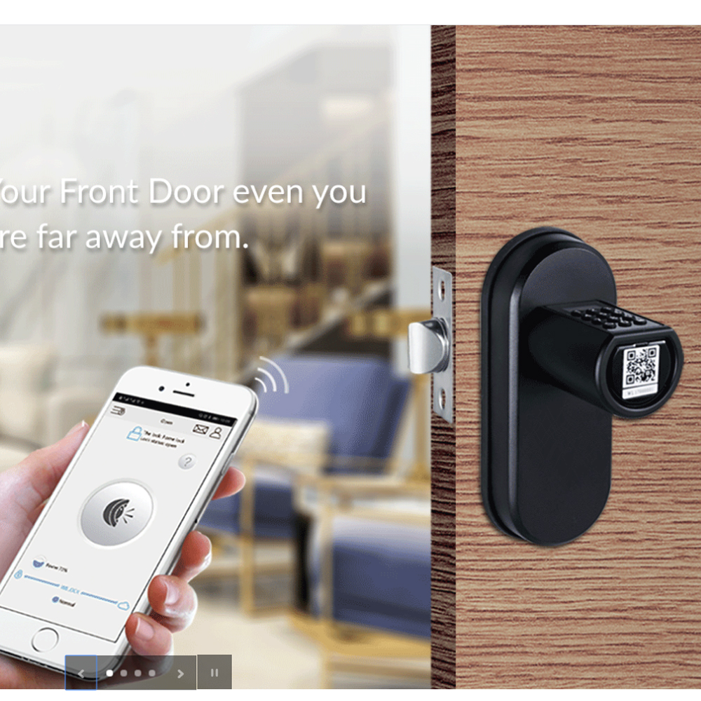 Us 109 45 45 Off L6pcb The Best Smart Lock Diy App Electronic Keypad Rfid Digital Door Lock For Airbnb Management Us Standard In Electric Lock From