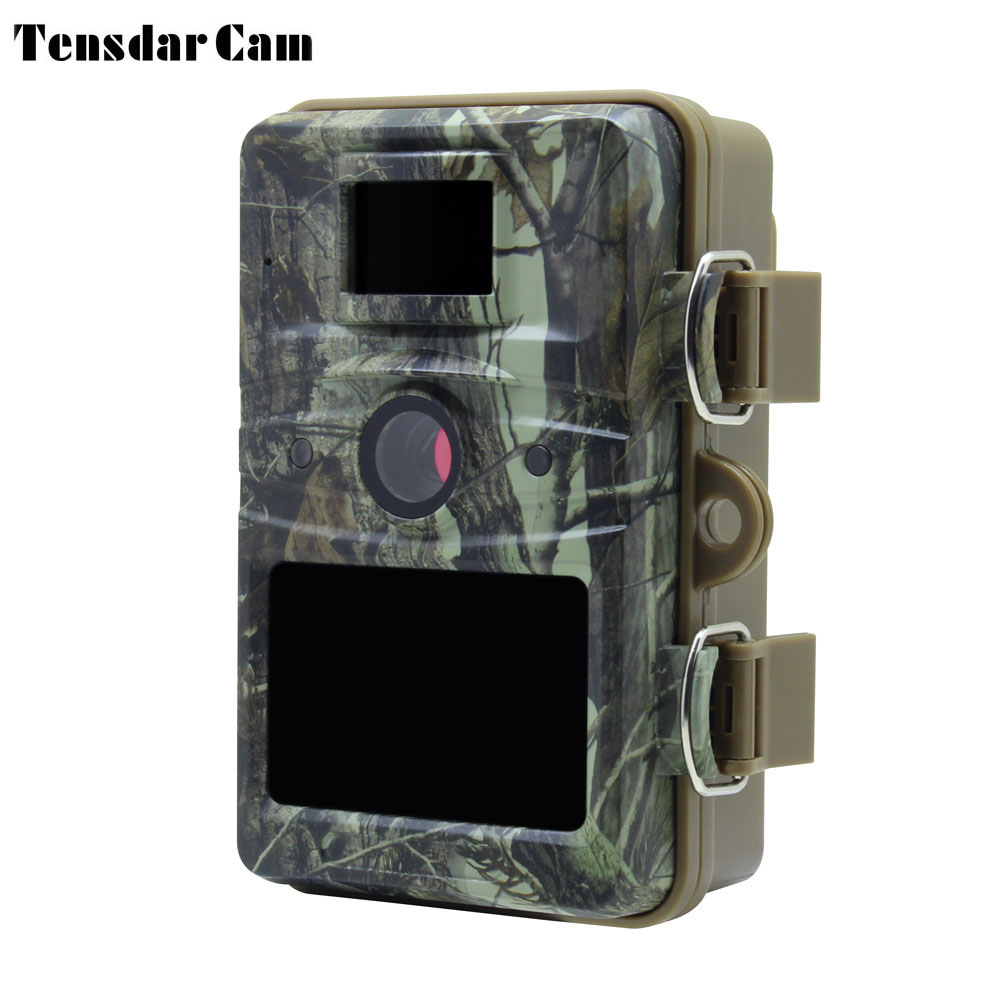 Tensdarcam Wildlife Hunting Camera HD 12MP Photo Trap Night Vision Waterproof IP66 Digital Hunter Trail Cam