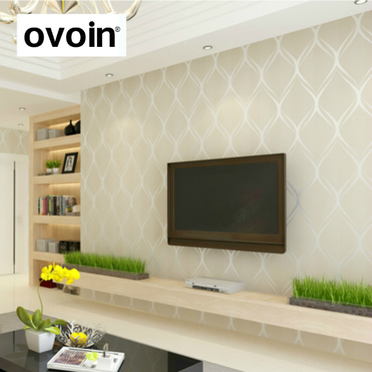 Beige White Grey Luxury Modern Wallpaper For Bedroom Walls Covering Living Room Wallpapers Roll Geometric Wall Paper Home Decor Kingdom Wallpaper
