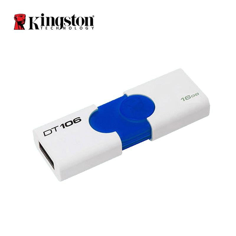 Kingston USB Flash Drive DT106 Pendrive usb3.1 16GB 32GB U Disk Pen Drive usb 16gb 32gb Memory Flash Memoria DT106 tjc tjc 003 5 chic chefs ceramic knife blue