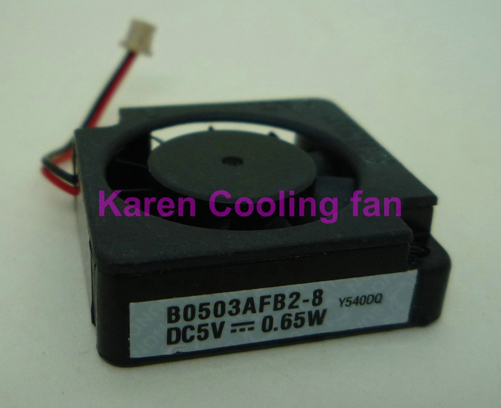 HZDO 3CM B0503AFB2-8 <font><b>5V</b></font> 0.65W 3010 <font><b>30mm</b></font> turbo blower switch notebook <font><b>Cooling</b></font> <font><b>fan</b></font> image