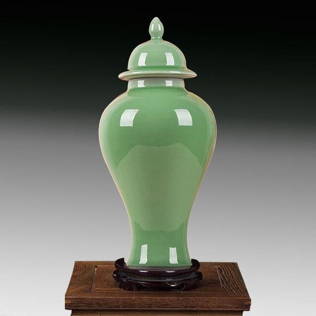 Blue Ginger Jar Part - 17: Chinese Jingdezhen Decorative Jars Blue Ginger Jars Antique Ceramic Ginger  Jar Lid