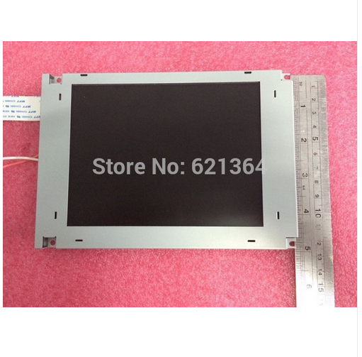 For SP17Q001 6.4 monochrome LCD Panel Display Screen of techmation HMI for haitian injection Molding Machine (REPLACEMENT)