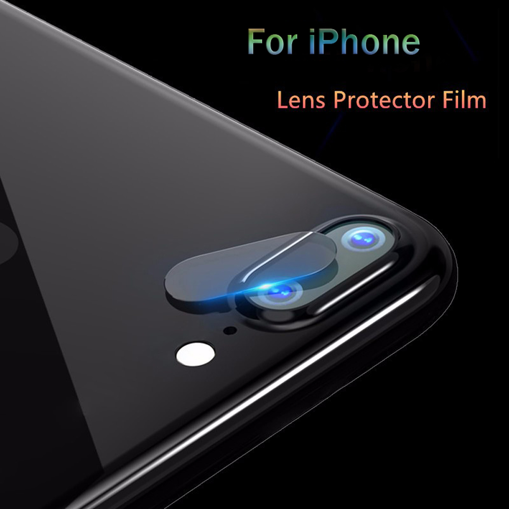 Dreamysow Clear HD Lens Film For iPhone 6 6s 7 8 Plus X Rear Camera Cover Back Lens Screen Protector Tempered Glass Anti-Scratch