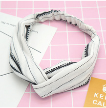 Fashion Women Twist Headband Stretchy Hair Band Girls Turban Accessories Head Wrap for