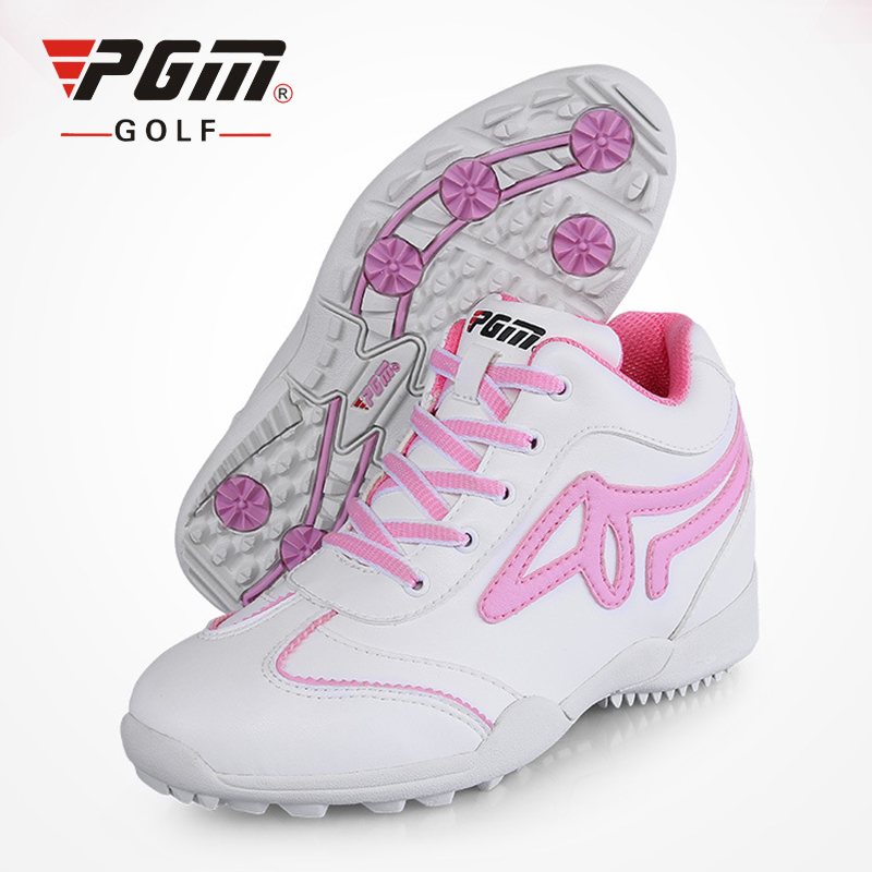 PGM Golf Shoes For Women 5.5cm Wedge Heel Sports Shoes Brand Women Golf Shoes Sneakers Anti-Skid Breathable Womens Golf Shoes