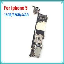 Хорошая рабочая материнская плата для iphone 5 5G 16g 32g 64g rom разблокированная материнская плата полная функция логическая плата установка системы IOS