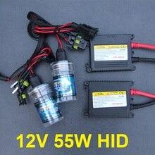 H7 xenon 55w HID kit H1 H3 H4 H11 9005 HB3 9006 HB4 H27 881 4300k 6000k 8000k super bright hid xenon conversion kit