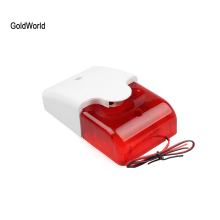 Wired Siren Strobe-System Alarm Light Mini Home-Security Indoor with Flash-Sound 110db