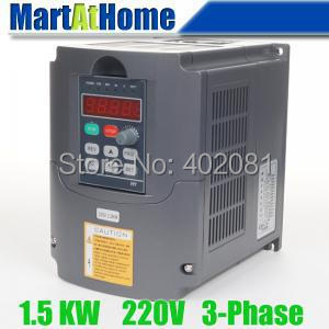 цена на Free shipping New 1.5kw 2HP 220V 7A Usual VFD Inverter Variable Frequency Drive Inverter for Spindle Motor #SM662 @CF