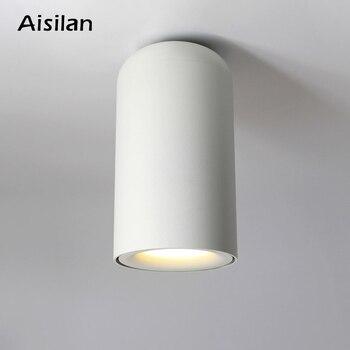 AIsilan классический светодиодный потолочный светильник в скандинавском стиле для гостиной, спальни, прихожая кухня, AC85-260V