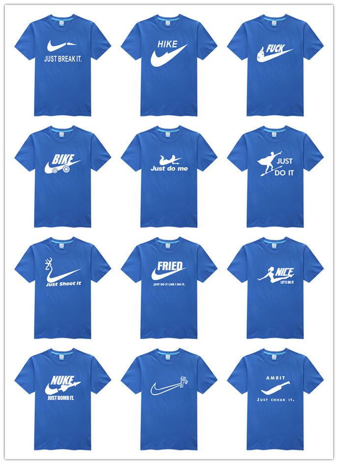 Hot sale spoof brand logo shirt high quality best cool men ...