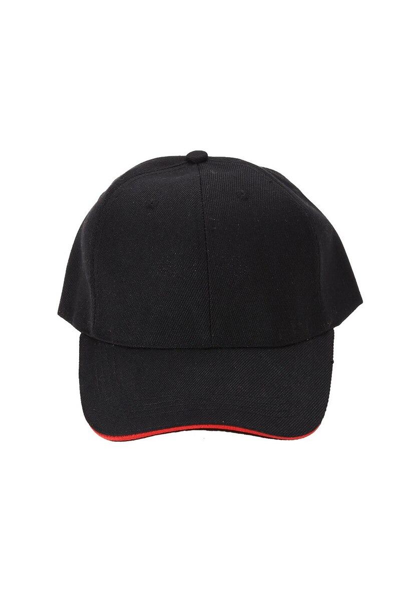 Унисекс Вс Cap Спорта На Открытом Воздухе Шляпу Сплошной Цвет Бейсболки Черный