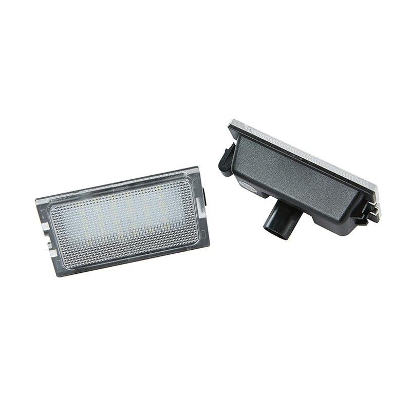 4 2 2pcs Car LED License Plate Lights For Land Rover LR3 LR4 discovery 3 4 Freelander 2 Rang Rover Sport  12V Number Plate Lamp (5)