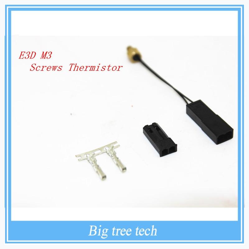 5 unids alta calidad Durable Modular de rosca M3 termistor para Prusa Reprap imp