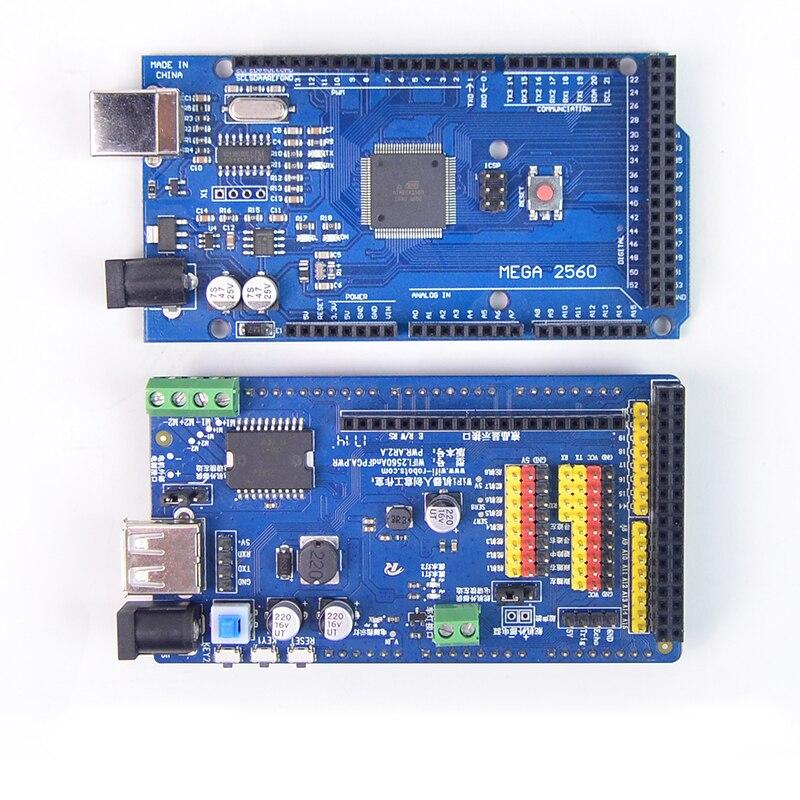 مجلس التنمية ArduinoMEGA2560 الذكية سيارة روبوت سائق المجلس-في قطع غيار وملحقات من الألعاب والهوايات على  مجموعة 1