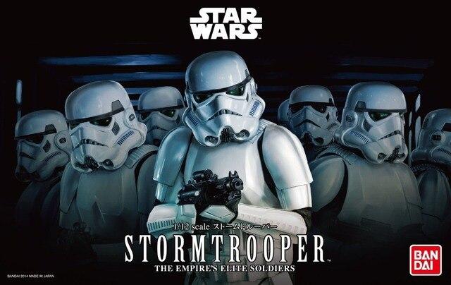 Bandai 1:12 ESCALA Imperial de Star Wars Stormtrooper/soldados clone modelo Montado