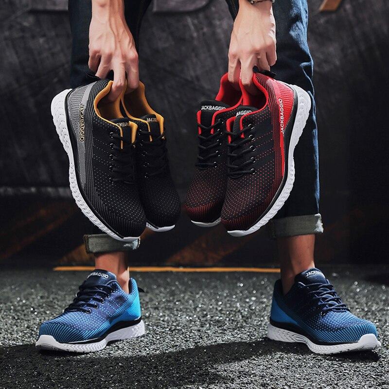 Брендовые ботинки мужские рабочие туфли Повседневная защитная обувь легкие сетчатые стальные носочки туфли промышленные анти-разбив дыша...