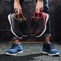 Botas de marca zapatos de trabajo para hombre zapatos de seguridad informales zapatos de punta de acero de malla ligera Industrial antigolpes transpirables antideslizantes