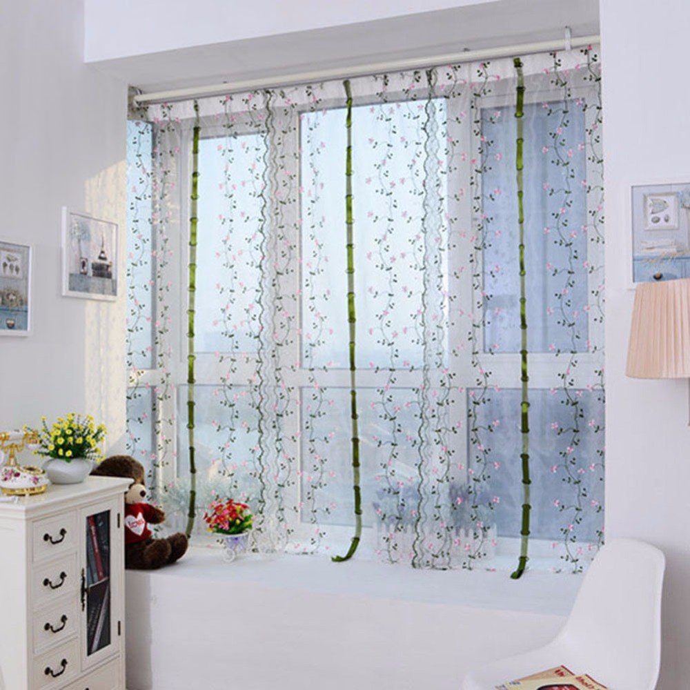 room popular living in vine yo home cho elegant curtains item for decor blackout purple hotel pastoral from flowers window