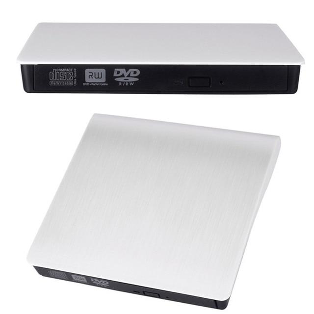 Mecall magro externo USB 3.0 DVD RW DVD-ROM CD-RW DVD-RW leitura escritor Burner jogo