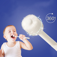 1pc Soft Nylon Kids Toothbrush For Infant Baby Mouth Clean Teether Training Toothbrushes Newborn Baby Dental