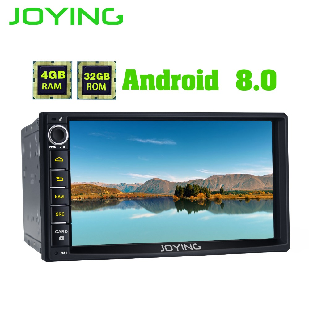 купить JOYING 2 DIN Autoradio android 8 car head unit for Honda Civic Octa core stereo for CRV 4GB RAM HD video player for Odyssey/H-RV по цене 18929.82 рублей