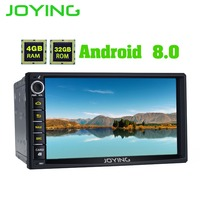 JOYING 2 DIN Autoradio android 8 car head unit for Honda Civic Octa core stereo for CRV 4GB RAM HD video player for Odyssey/H RV