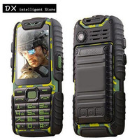 GuoPhone A6 Rugged Cell Phone With Power Bank 2.4 Dual SIM CardC Flashlight Big Battery Long Standby Mobile Phone Dropshipping