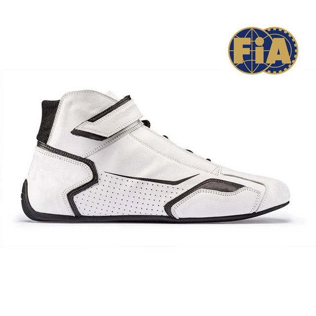 Fireproof race shoes for F1 with FIA 8856-2000