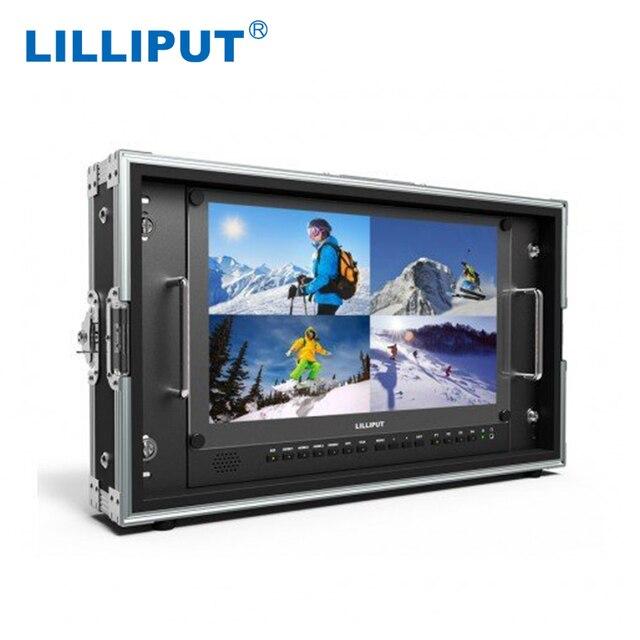 """ליליפוט BM150 4KS חדש 15.6 """"3840x2160 4x4K HDMI 3G SDI ובהחוצה שידור מנהל צג עם HDR, 3D LUT, מרחב צבע"""