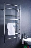 Yijin Curved electric heated towel rail warmer towel dryer electric stainless steel radiators HZ 914AS