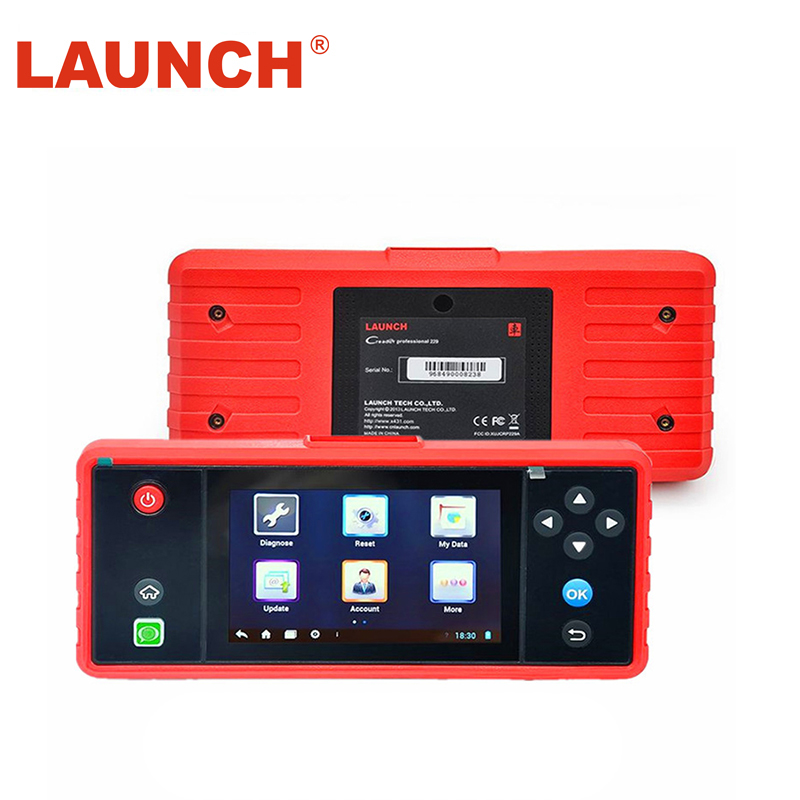 original Launch x431 Creader Touch 5.0 Android System OBD2 Full Diagnostic Update Online Wifi Supported CRP 229 Code Reader ...