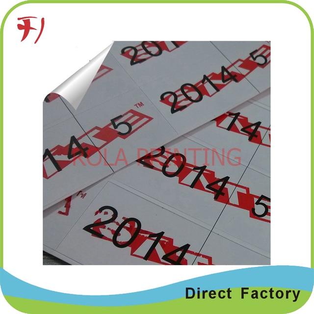Custom vinyl stickerpvc sticker roll wholesalecolorful printing label stickers with logo