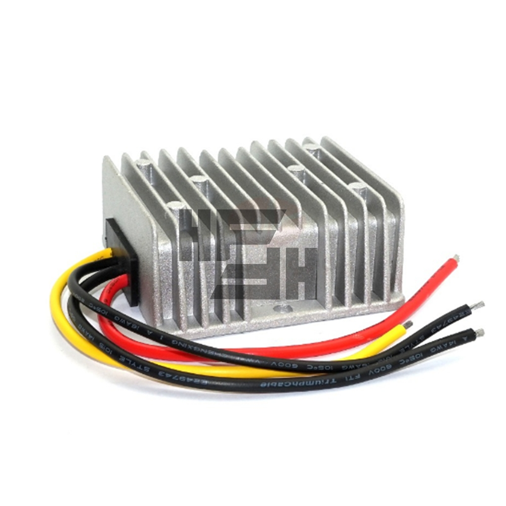 Waterproof DC-DC automatic step-up and step-down power supply 8-40V to 12V 10A car 12V hidden voltage power converter step up voltage 12v dc to 24v dc 10a power converter