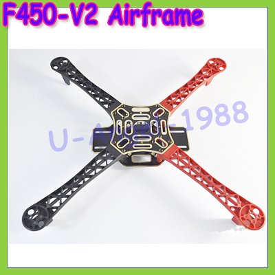 F450-v2 Multi-Rotor Air Frame FlameWheel KIT For   KK MK MWC 4 Axis RC Multicopter Quadcopter UFO for  phantom Dropship