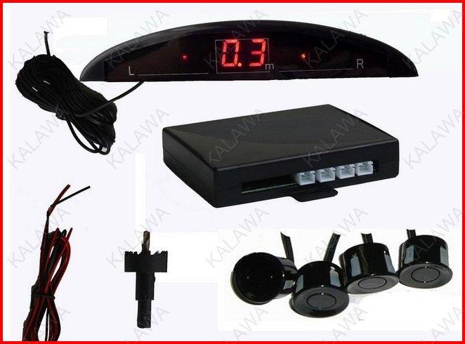 Auto Parking Sensor System 12V LED Display Indicator Car