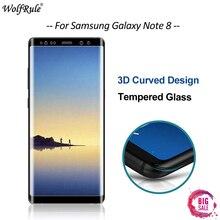 WolfRule sFor Glass Samsung Galaxy Note 8 Screen Protector Tempered Glass For Samsung Galaxy Note 8