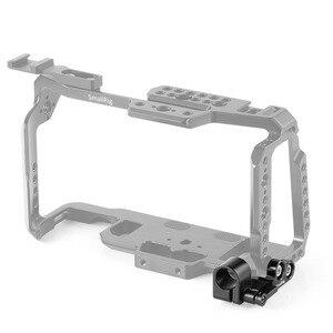 Image 3 - Collier de serrage à tige unique de 15mm pour caméra cinéma de poche de conception Blackmagic Cage BMPCC 4K cage small rig 2203/2254/2255   2279