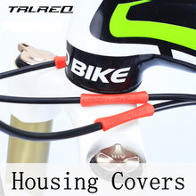 Bike Tube Tops Brake Shift Behuizing Covers Frame Protectors Fiets kabel housingRubber Beschermhoes Pijp Protector, 4 STKS(China)