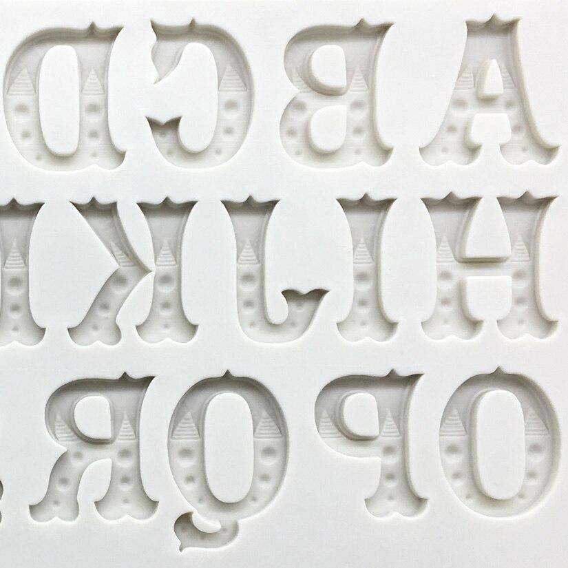 Großhandel 10 Teile/los Das Englische Alphabet Formen Silikon Sugarcraft Formen, Fondant Kuchen Dekorieren Tools, Silikonseifenform-in Backformen aus Heim und Garten bei  Gruppe 2
