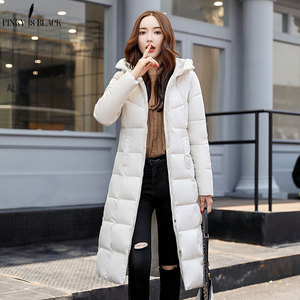 Image 4 - PinkyIsBlack winter jacket women hooded long parkas winter coat women wadded jacket outerwear thicken down cotton padded jacket