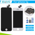 100% Guarantee For iPhone 5 Display Touch Screen display for iphone5 lcd Digitizer Assembly Black/White + Tool +Tracking Code