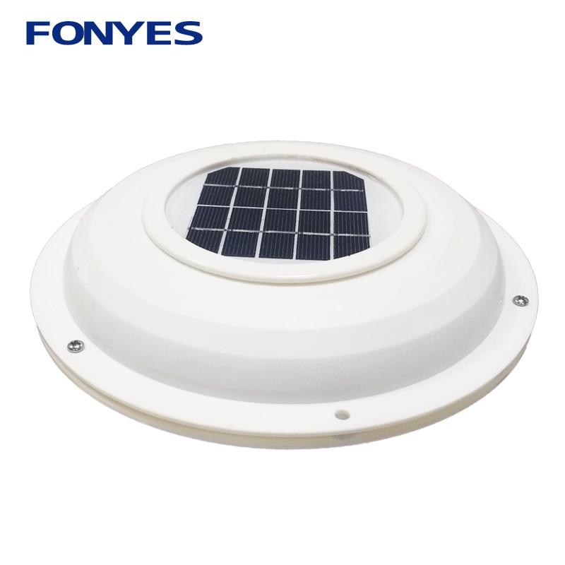 Solar powered ventilation fan air vent fan extractor exhaust ventilator for caravans car boat RV home green house