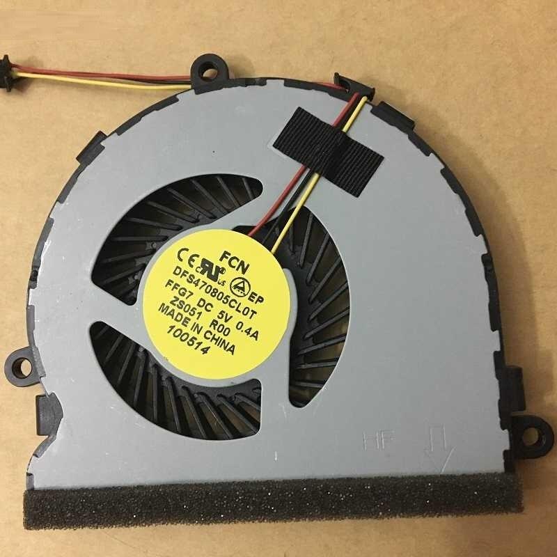 Вентилятор охлаждения процессора SSEA для Dell inspiron 15R 17 17R 3521 3721 5521 5535 5721 15-5737 15R-5537 74X7K 074X7K DC28000C8A0