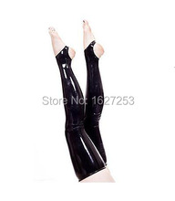 Hot sale! latex rubber thigh high stockings rubber leggings for women