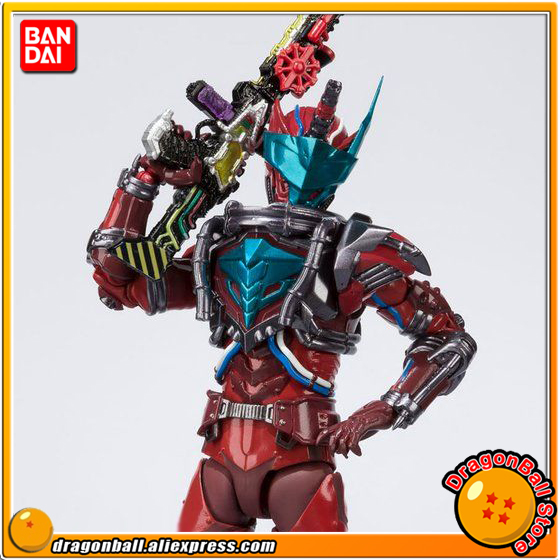 Japan Anime Kamen Rider Build Original BANDAI Tamashii Nations S.H. Figuarts / SHF Exclusive Action Figure - Blood Stalk anime bakuon original bandai tamashii nations s h figuarts shf action figure rin suzunoki rider suit & gsx 400s katana